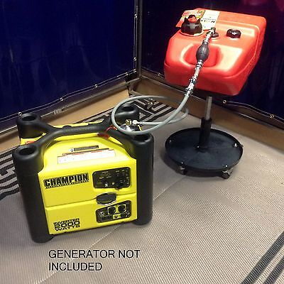 Champion 2000 Watt Inverter Generator 6 Gallon Extended Run Fuel System*