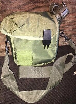 Military Canteen Crossover Bag 2 Quart Collapsible Adjustable Strap