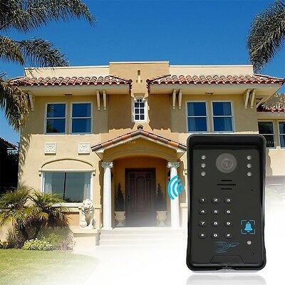 DoorBell Video Door Phone Home Intercom System IR Camera Monitor Outdoor XP