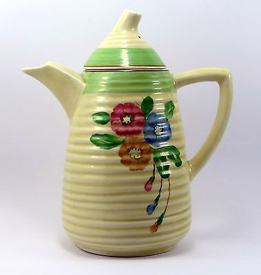 "Beautiful Large Lynton Nosegay Jug 8"" by Clarice Ciff, around 1935 Great cond'n"