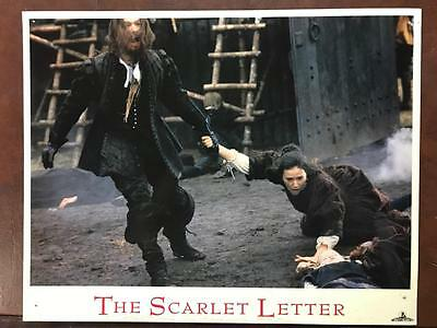 Gary Oldman Demi Moore The Scarlet Letter 1995 original lobby card 036