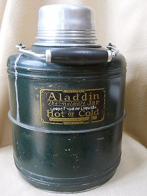 Vintage Aladdin Thermalware Jar/Porcelain lined thermos JUG /Picnic/camping/5 QT