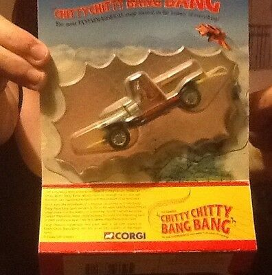 Vintage Chitty Chitty Bang Bang Car. Mint Condition. Boxed.