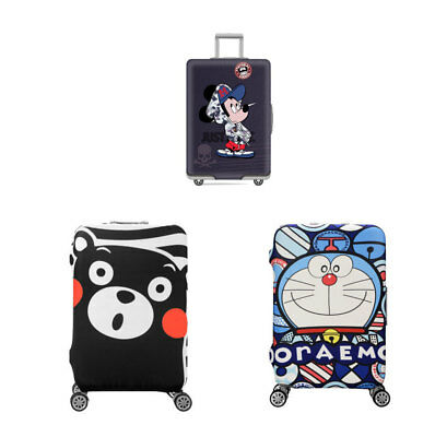 Elastic Luggage Case Cover Trolley Suitcase Travel Dust Cover Trolley Waterproof