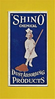 c1930 brochure SHINO CHEMICAL DUST-ABSORBING PRODUCTS ~ DUSTERS, MOPS, POLISHER