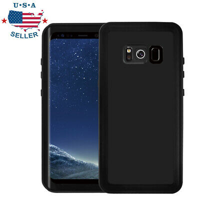 For Samsung Galaxy S8/S9 Plus Waterproof Case Cover Built-in Screen Protector US