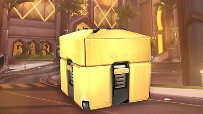 Overwatch Golden Loot Box Crate XBOX/PS4/PC INSTANT DELIVERY