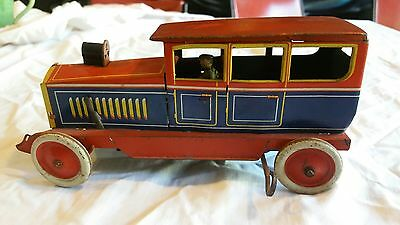 Vintage Distler tin toy car
