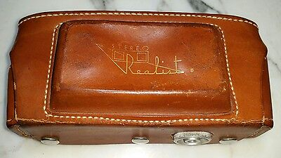 Original Stereo Realist Camera Case, leather, excellent condition!