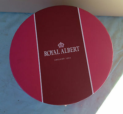 royal albert trio  unused in box