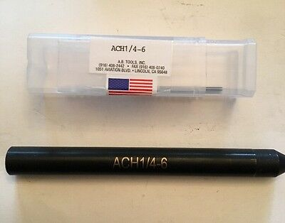 A.B. Tools ACH1/4-6 Precise Tool Bushing Sleeve Accu Hold AB Holder Extension