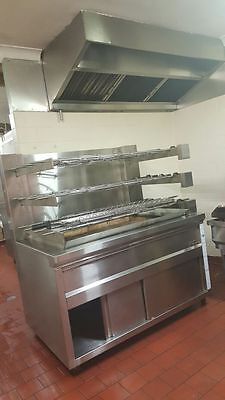 Commercial Charcoal Chicken Rottiserrie