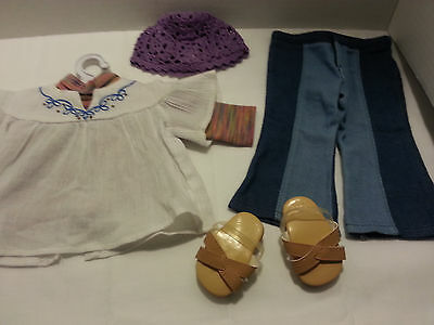 American girl doll julie meets 7 piece outfit