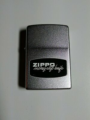 Zippo Box Top Design : Money Clip Knife | Limited to 30!