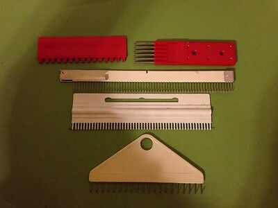 Passap Electronic Knitting Machine E6000 Parts Combs