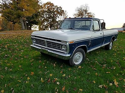 1973 Ford F-350  1973 f-350  super camper special ground up restoration with original paint!