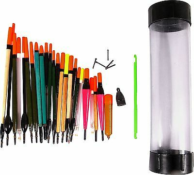 Dunlop High Quality Fishing Floats and Tube Set -From the Argos Shop on ebay
