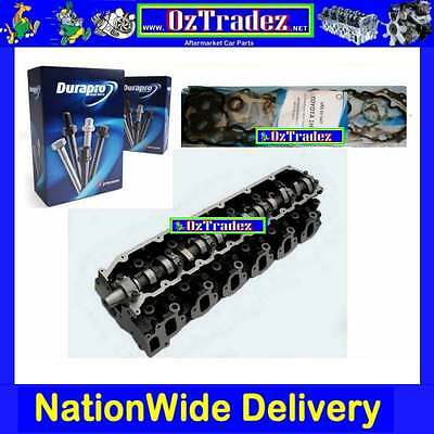 Toyota 1HD-T 1HDT Landcruiser Coaster complete cylinder head w Gaskets & Bolts