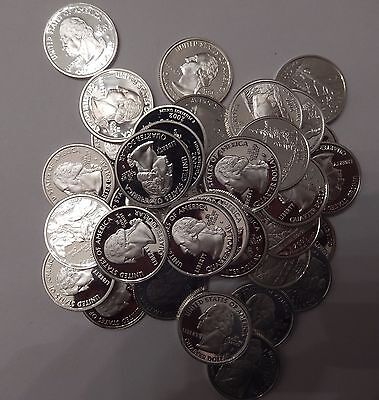 Lot of 40x Proof PF Washington Quarters 90% Silver Mixed Dates San Francisco 02