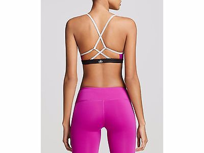 Alo Yoga WESTERLY Strappy Sports Bra Top in Amethyst - XS, NWT