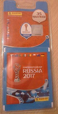Panini Confederation Cup 1 Blister (7 packs) + 1 extra sticker russian version