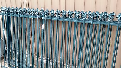 Pool Fence Panels Steel Tube Galvanized Spear Top