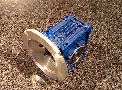 Motovario Right Angle Worm Gear Reducer NMRV050 60:1, Pick from 2 New Units