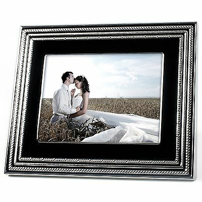 Vera Wang Wedgwood Love Noir 8-Inch LCD Digital Photo Picture Frame Video Slides