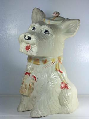 Reliable hard plastic scottie dog coin bank made in Canada
