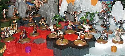 Zanafor's Discovery Wave 4 minis cards Heroscape D&D RPG mm Warhammer fantasy