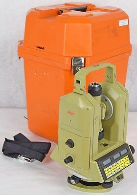 Leica/Wild Heerbrugg WILD T2002 Theomat Electronic Precision Theodolite w/Case