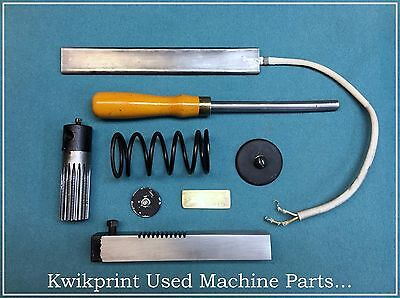 Kwikprint ( Miscellaneous Used Machine Parts ) Hot Foil Stamping Machine