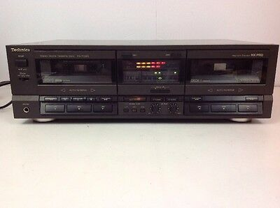 Technics RS-TR265 Stereo Audio Dual Cassette Deck Tape Player/Recorder Japan