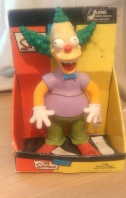Talking Crusty the Clown, Simpson figure