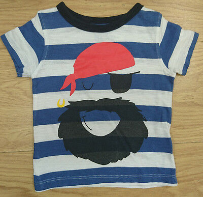 Next Baby Boy T Shirt Age 6-9 Months Pirate