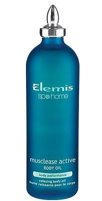 Elemis Musclease active body oil 100ml  , NEW & GENUINE
