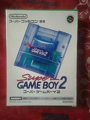 Nintendo Super Game Boy 2 En Boite Jap Rare