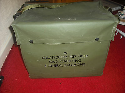 RAF 14A bag carrying camera magazine rare.aircraft part.
