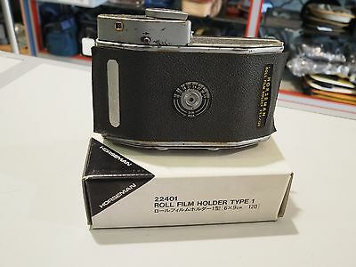Horseman Filmback 8EXP 120 6x9 Roll Film Holder Type1 22401 From Japan AS IS