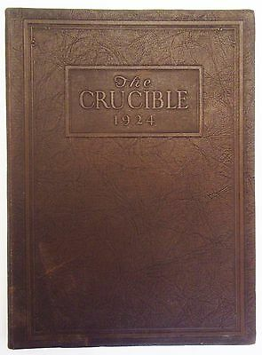 The Crucible, 1924 Yearbook - YMCA COLLEGE, CHICAGO - College Annual