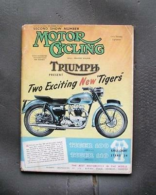 Motor Cycle magazine Special Show Edition 2 November 1953