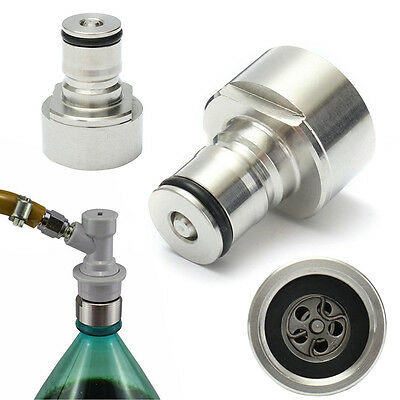 Homebrew Stainless Steel Carbonation Cap Carbonate Ball Lock Soft PET Bottles