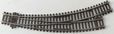 PECO Setrack ST245 Code 100 Curved Left Hand Point / Turnout