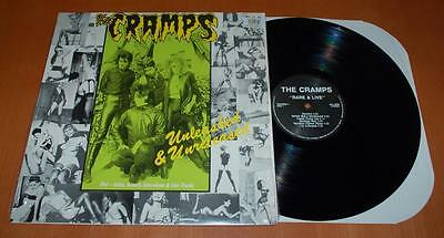 The Cramps - Unleased & Unreleased - 1989 UK Vinyl LP - Open Shrink