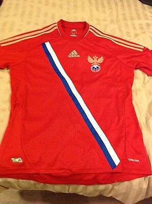 Authentic Adidas Climacool, Men's Russia Home Shirt 2011-2013