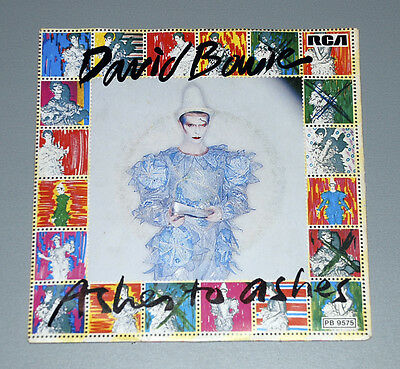 7 Single DAVID BOWIE  Ashes to Ashes