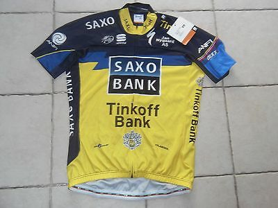 Saxo Bank Tinkoff maillot velo cycliste sportful tour de France