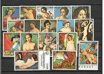 Paraguay Paintings Mnh