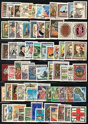 (Ref-10915) Austria - Large Stockcard of Commemoratives - Used Condition.