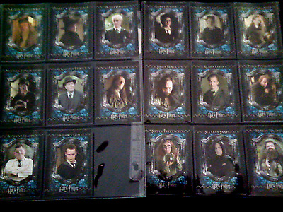 17 harry potter foil sub-set trading cards